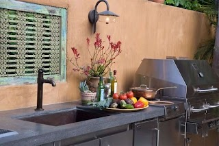 Plumbing for Outdoor Kitchen Sink Kalamazoo Gourmet