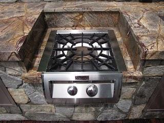 Outdoor Kitchen Burners Designs Installation Jj Landscape Management Inc