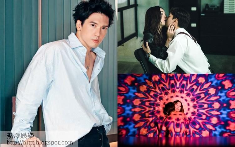 關智斌在《墮落花》中與溫碧霞有情慾戲,非常大膽,但他是很大尺度。