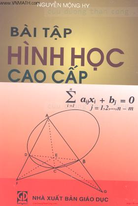 BAI TAP HINH HOC CAO CAP.pdf