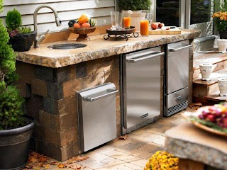 Outdoor Kitchen Sinks and Faucets Pictures Tips Expert Ideas Hgtv
