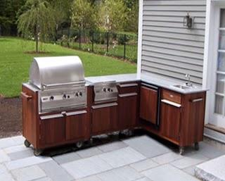 Polymer Cabinets for Outdoor Kitchens Modular Kitchen Prefab Craftsman