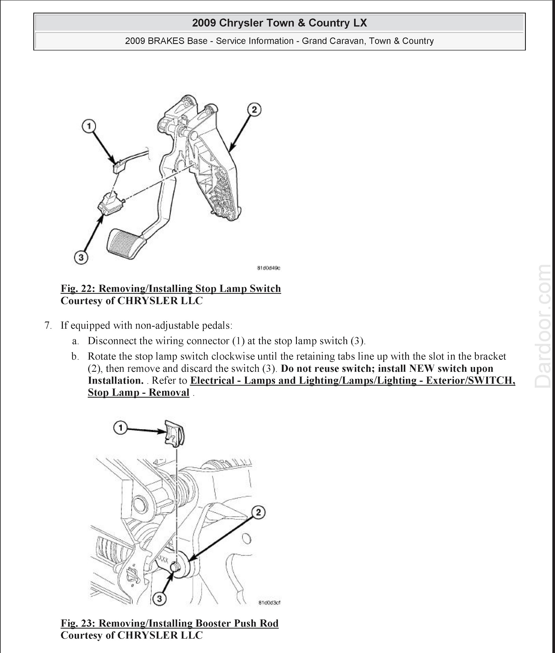 Download 2008-2009 Dodge Grand Caravan, Chrysler Town and Country Repair Manual