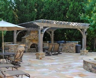 Flagstone Outdoor Kitchen 5 Design Ideas Royal Masonry