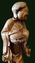 Statueta  din lemn Buddha - 85 - poza 4 - Galeria Anton