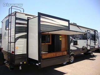 Travel Trailers with Bunks and Outdoor Kitchen 2016 Puma 31dbts Bunkhouse Trailer W