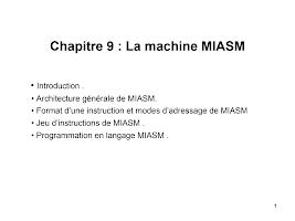 chapitre 9 miasm.ppt