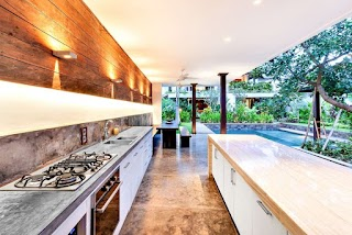 Outdoor Kitchen Lighting Ideas 23 and Examples