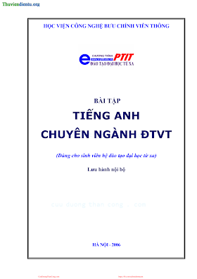 BCVT.Bài Tập Tiếng Anh Chuyên Ngành Điện Từ Viễn Thông - Ths. Nguyễn Quỳnh Giao, 86 Trang.pdf