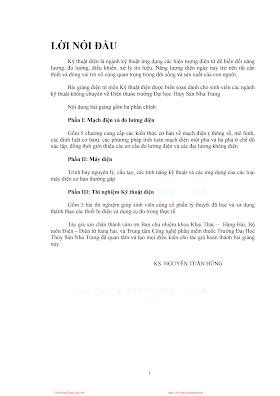 ĐHNT.Bài Giảng Kỹ Thuật Điện - Ks. Nguyễn Tuấn Hùng, 111 Trang.pdf
