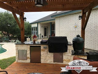 San Antonio Outdoor Kitchens Kitchen Builders Diamond Deck Medium