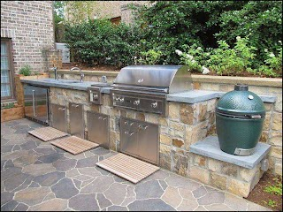 Outdoor Kitchen with Green Egg 10 Best of Big Ideas