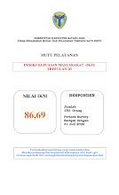 PUBLIKASI  IKM 2020 TW III