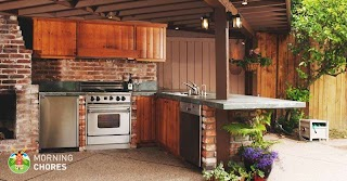 The Outdoor Kitchen 6 Reasons Why You Absolutely Must Have an This Summer