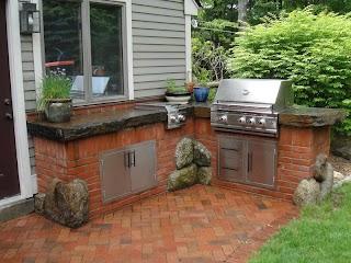 Red Stone Outdoor Kitchen Irisroboticsstore Irisroboticsstore