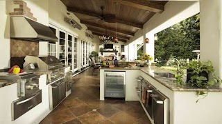 Awesome Outdoor Kitchens 15 Contemporary Kitchen Designs Home Design Lover