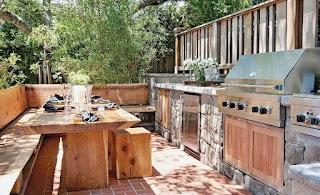 Outdoor Kitchen on a Deck 101 Ides Nd Designs Photos