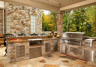 How Much Does an Outdoor Kitchen Cost Estimate for Stove