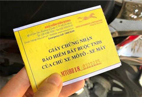 (Thời báo Tài chính Việt Nam) Bảo hiểm xe máy bắt buộc và những điều cần biết