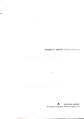 0201896850 {310CC325} The Art of Computer Programming (vol. 3_ Sorting and Searching) (2nd ed.) [Knuth 1998-05-04].pdf