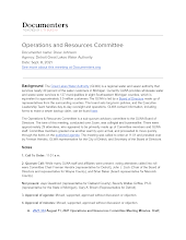 Operations and Resources Committee