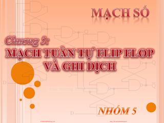 Slide.mạch Tuần Tự Flip Flop Và Ghi Dịch.pdf
