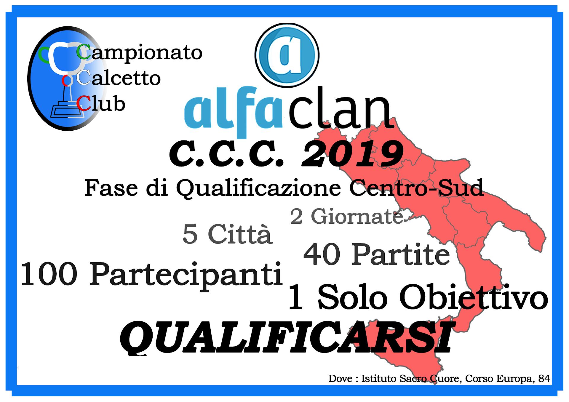 Campionato Calcetto Club 2019
