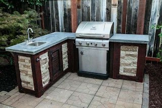 Build Your Own Outdoor Kitchen How to for a Fraction of The Cost