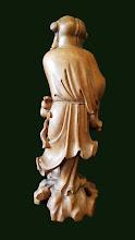 Statueta  din lemn Buddha - 85 - poza 3 - Galeria Anton