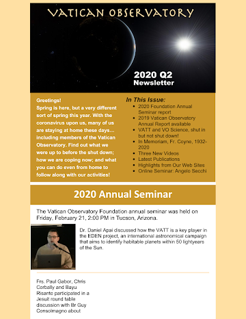 2020 Q2 Foundation Newsletter