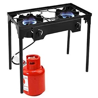 Outdoor Kitchen Burners Gas Amazoncom Goplus Stove High Pressure Propane Burner 150