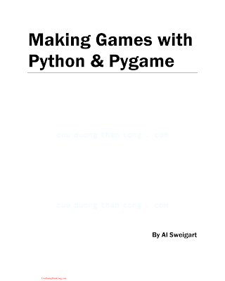 Making Games with Python _ Pygame.pdf