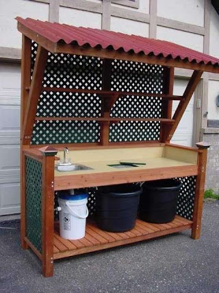 Outdoor Kitchen Sink Station 15 Most Outrageous Ideas Potting
