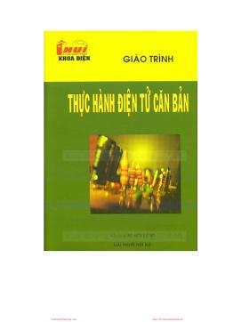 ĐHCN.Giáo trình thực hành điện tử căn bản - Nhiều Tác Giả, 28 Trang.pdf