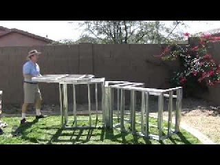 Steel Frame Outdoor Kitchen Mail Order Kits Youtube