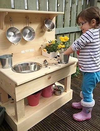 Outdoor Toy Kitchen Wooden Mud Play