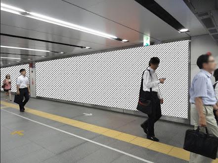 東横線 渋谷スーパーボード