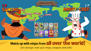 Jumping Ninja Battle Mod Apk 3.97 [Unlimited Money]
