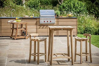 Outdoor Kitchen Show Gaze Burvill and Sub Zero Wolf Off Must Have S At