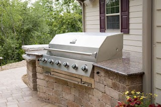 Built in Grill Outdoor Kitchen S Smuskego Wi
