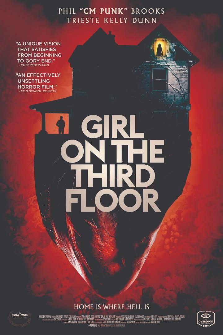 Girl on the Third Floor kurdish poster