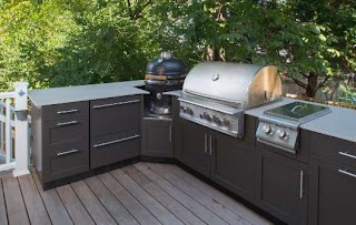 Cabinets for Outdoor Kitchen Stainless Steel Cabinetry Danver