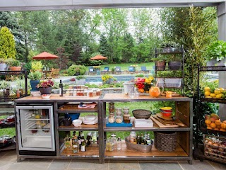 Bobby Flay Outdoor Kitchen Barbecue Addiction S Basics Food Network