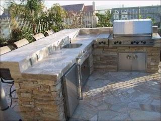 Outdoor Kitchen Island Designs Architecture Grill Ideas Magnificent Build