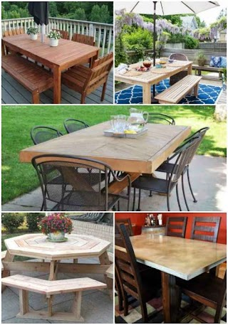 Outdoor Kitchen Table 18 DIY Dining Room S