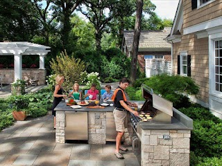 Outdoor Patio Kitchens 20 and Grilling Stations Hgtv