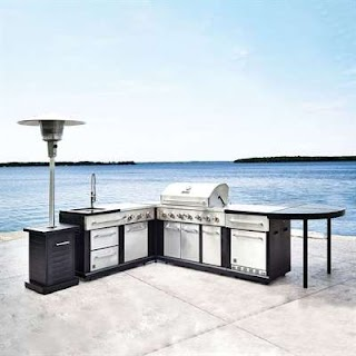 Master Forge Modular Outdoor Kitchen 5piece Set Lowes Canada