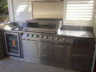Stainless Steel Outdoor Kitchen Doors S
