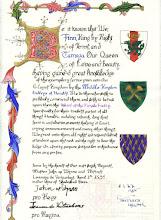 College of Heralds Purple Fretty