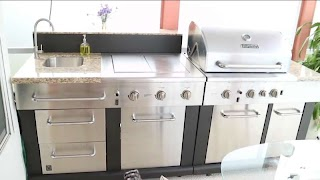 Outdoor Modular Kitchen DIY Grill Cleaning Elle Kos Glam